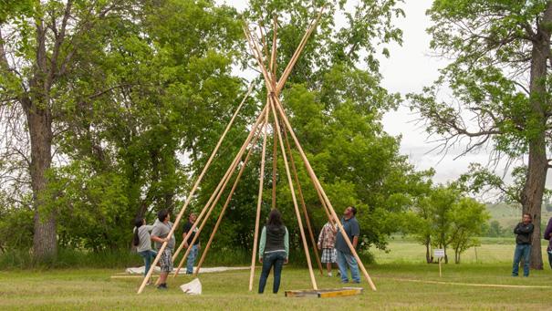 Lakota Sprachcamp, Pine Ridge
