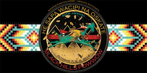 Logo Black Hills Powwow
