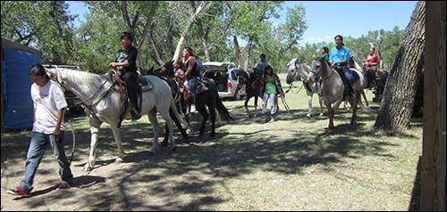 Kinder und Jugend Pferdecamp