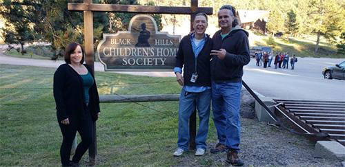 Linda mit Sequoia und Charly